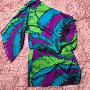 Laundry by shelli segal funky silk dress